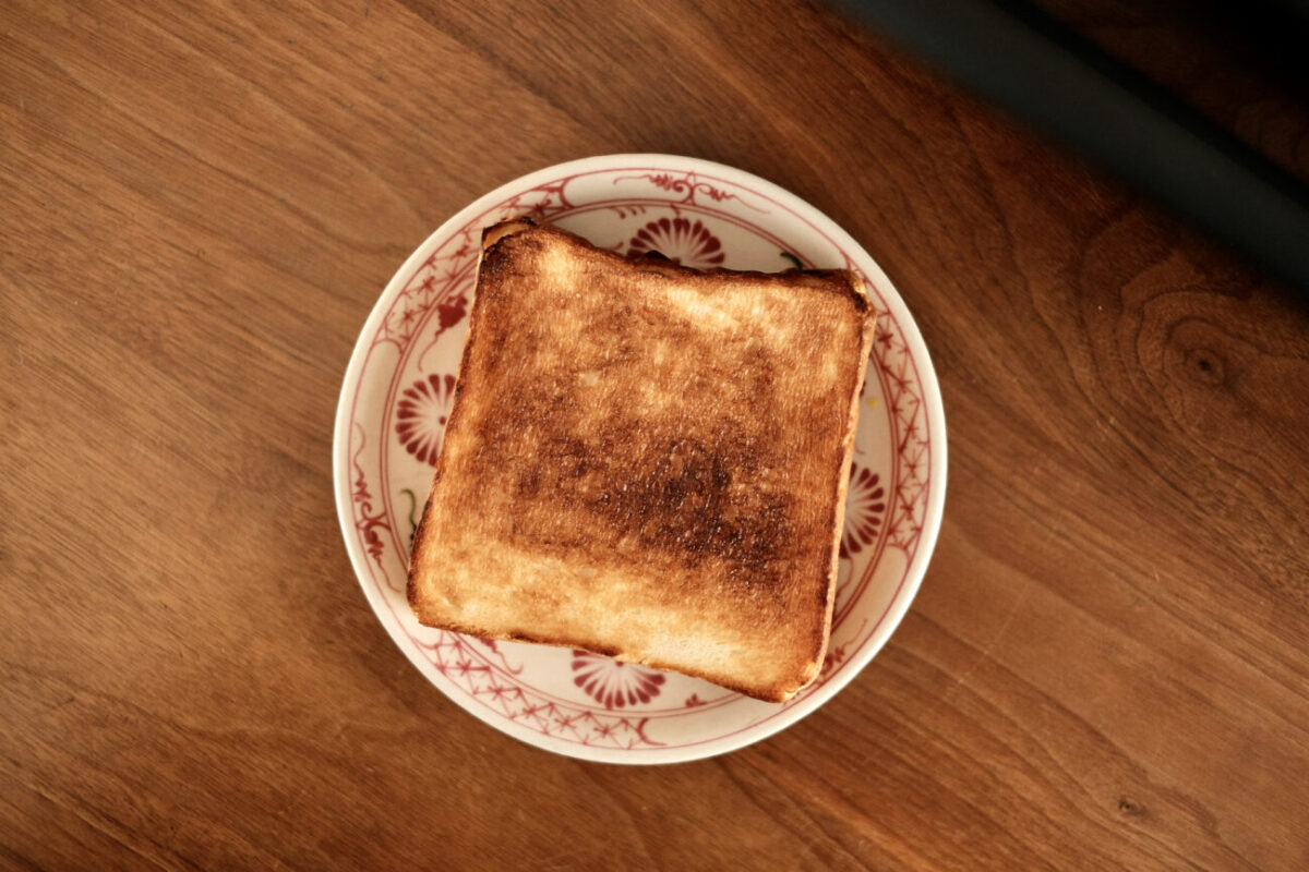 すばやきトースター(シロカ)|トーストでき上がり