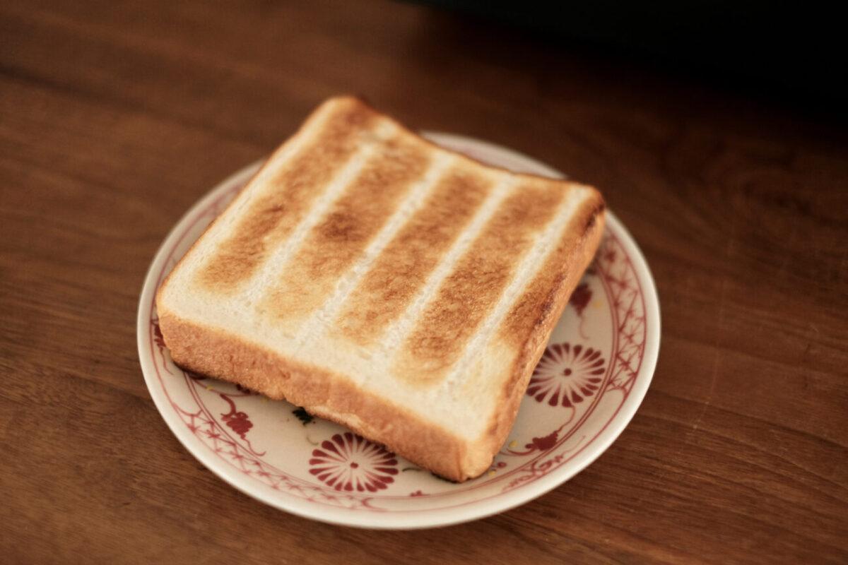 すばやきトースター(シロカ)|トースト裏面